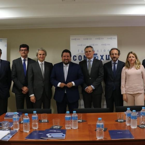 Moliner suma esfuerzos con los empresarios para posicionar Castellón en Madrid