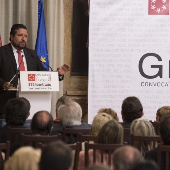 La Diputació concedeix 350.000 euros d'ajudes a 121 col·lectius socials