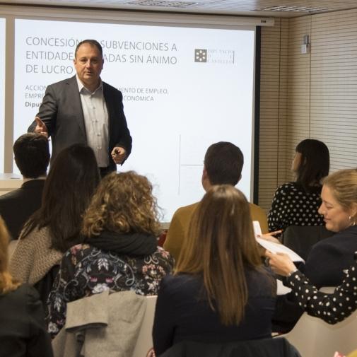 Diputación refuerza su trabajo por fomentar la creación de nuevas empresas