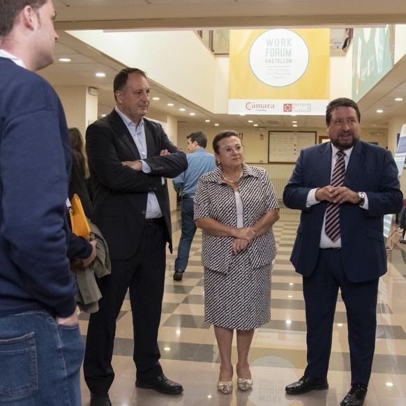 """Moliner: """"El Work Forum ajuda que Castelló retinga el talent"""""""