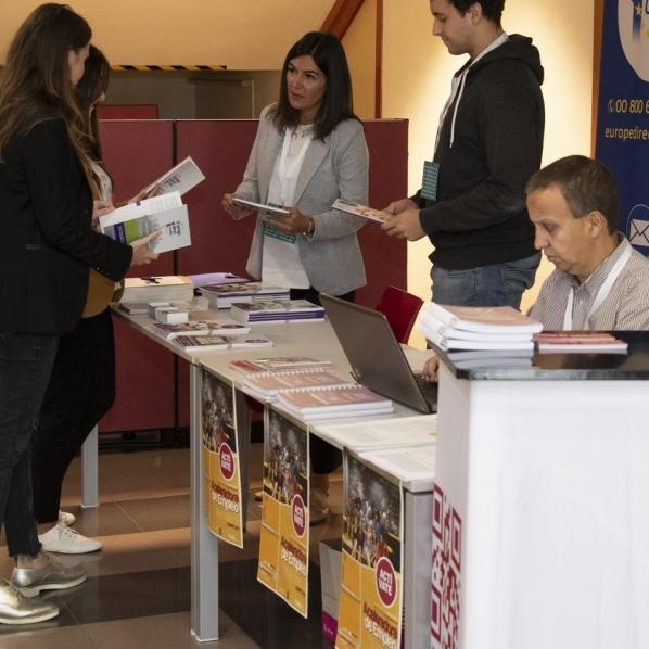 Diputación prestará atención personalizada y multitud de servicios en Work Forum