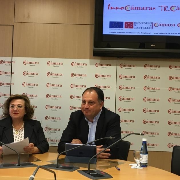 Diputación y la Cámara de Comercio convocan ayudas para impulsar la competitividad