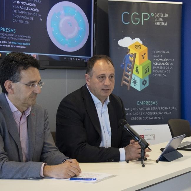 Diputación y el Espaitec comienzan un Castellón Global Program que ayuda a 68 empresas