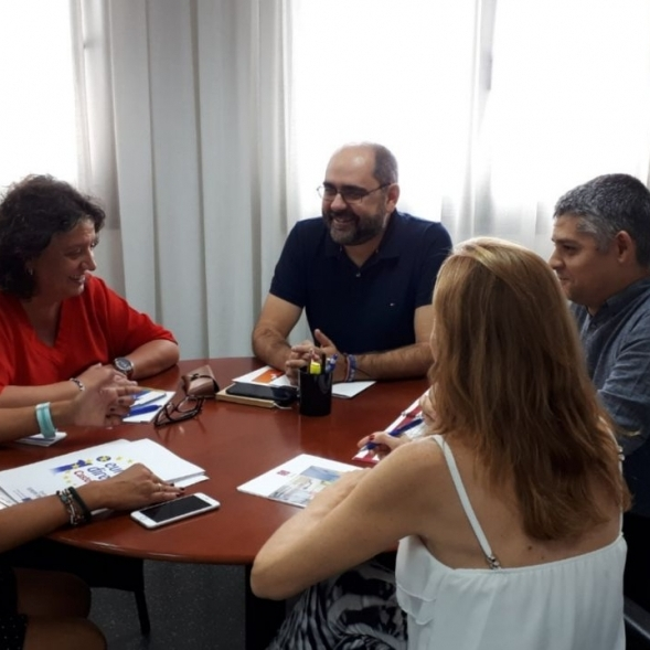 Ferrando col·laborarà amb la Generalitat per a potenciar la promoció internacional de la província