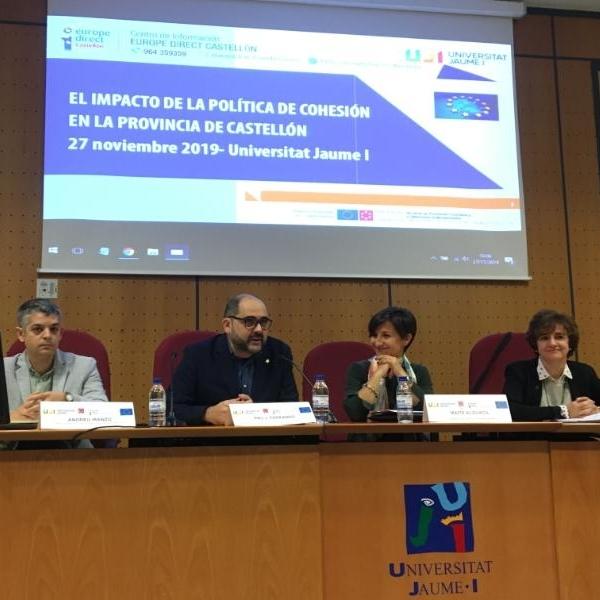 La Diputació analitza l'impacte de les Polítiques de Cohesió europees a les comarques de Castelló