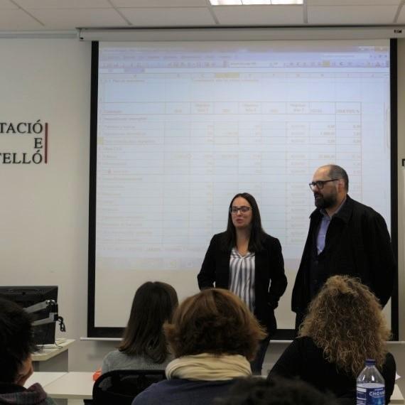 Diputació oferix cursos gratuïts i en format telemàtic per a empreses i persones emprenedores a l'interior