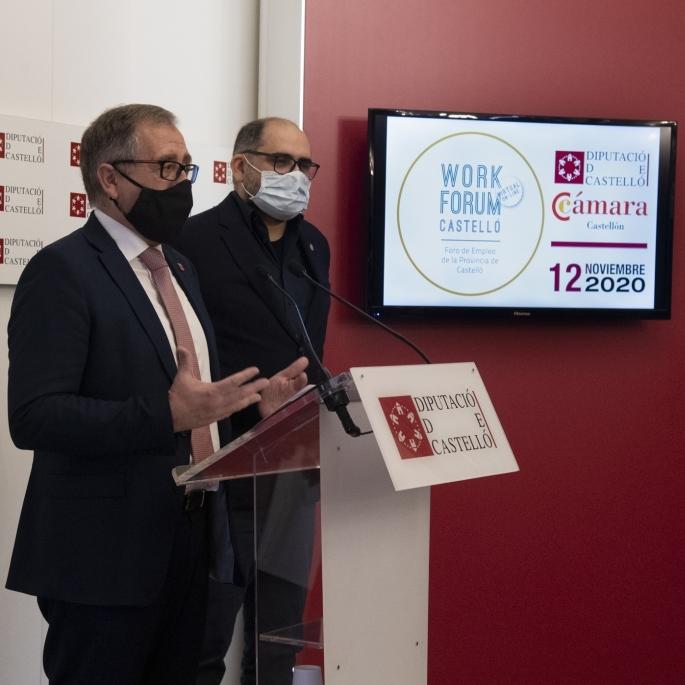 El primer Workfòrum virtual s'adapta al context de pandèmia per promoure l'ocupació a la província