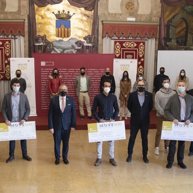 La Diputació acull el lliurament de premis del programa d'emprenedoria conjunt amb CEEI Castelló