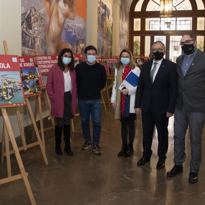 La Diputació de Castelló inaugura una exposició sobre l'impacte dels fons europeus a la província