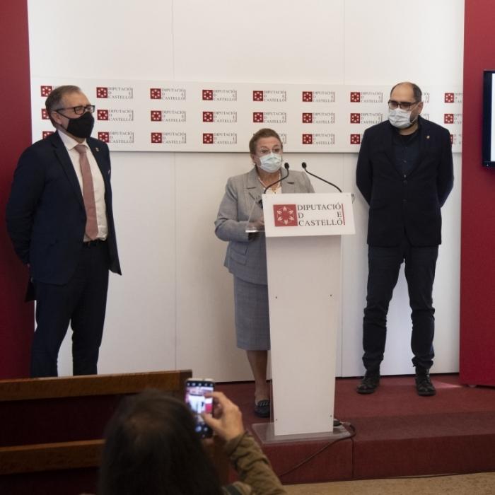 La Diputación de Castellón suma esfuerzos con la Cámara de Comercio para mejorar la competitividad empresarial de la provincia