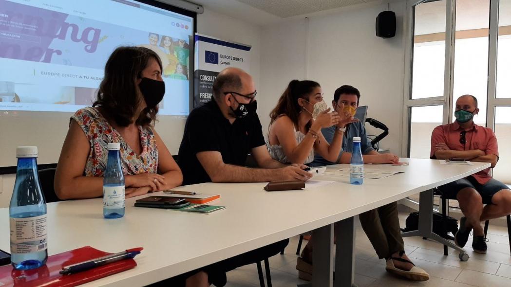 Europe Direct Castelló traslada las propuestas de los agentes sociales y económicos del interior a la Comisión Europea