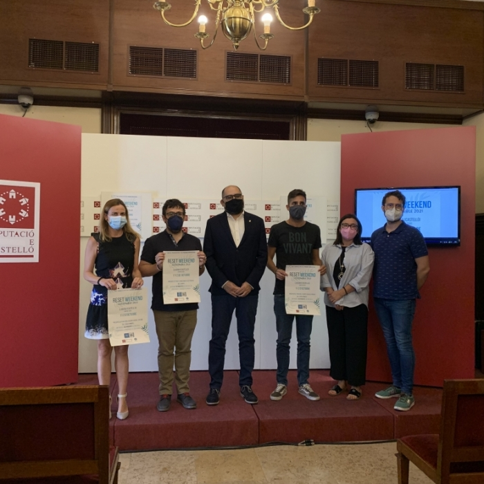 La Diputación anima al emprendimiento a perfeccionar su idea de negocio ambientado en la sostenibilidad en el Reset Weekend