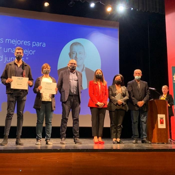 El diputat de Promoció Econòmica entrega a Segorbe el premi als guanyadors del VI Concurs Alta Palància Emprendre
