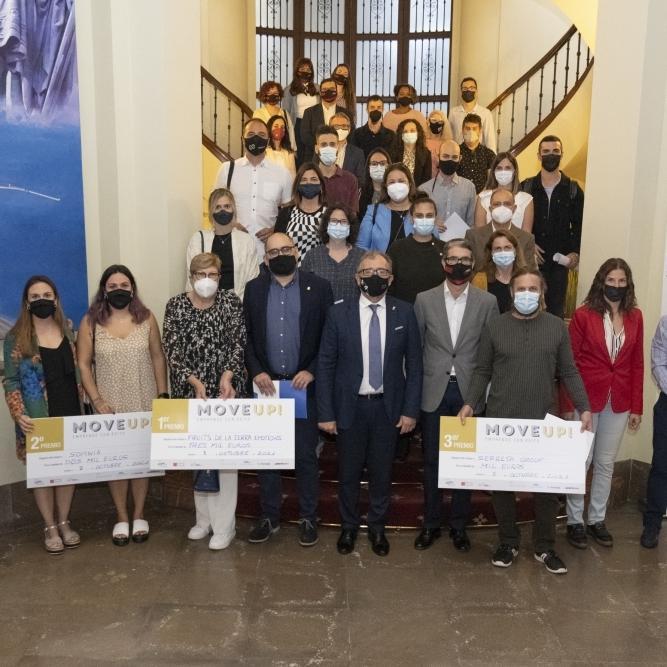 La Diputación premia e impulsa con 'Move Up' tres proyectos de emprendimiento de la provincia