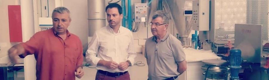 La Diputación de Castelló reafirma su apuesta por el sector cerámico y su compromiso con el ITC