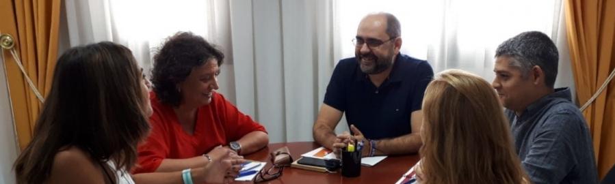 Ferrando colaborará con la Generalitat para potenciar la promoción internacional de la provincia