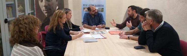 El diputat de Promoció Econòmica recull les necessitats del Gremi Turístic i Cultural de Benassal