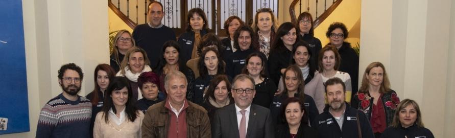 La Diputación se implica para formar profesionales en el campo sociosanitario que atiendan las necesidades de la población mayor del interior
