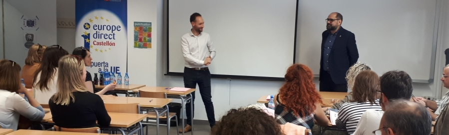 La Diputación de Castellón recibe a los participantes del proyecto europeo VET UP para la excelencia en la FP