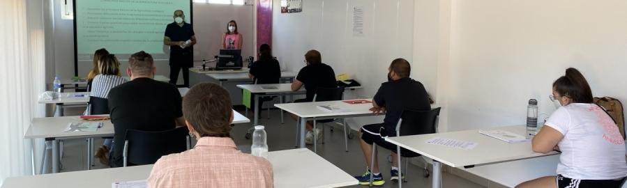 La Diputación impulsa nuevos talleres de ocupación para jóvenes del interior en Vall d'Alba y Segorbe