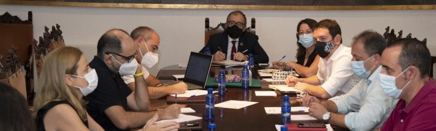 El equipo de gobierno de la Diputación de Castellón priorizará la captación de fondos europeos estructurales