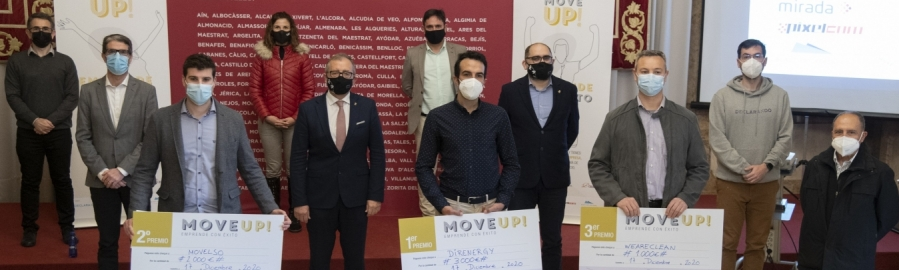 'Move Up! Emprende con éxito' bate su récord pese a la pandemia, con 54 candidaturas de proyectos de emprendimiento de 19 localidades